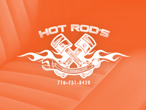 Hot Rod's Repair & Performance Center, Logo Redesign