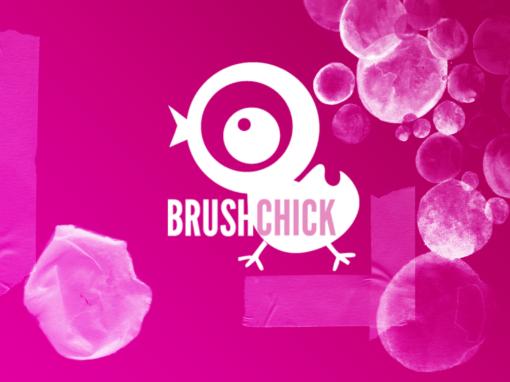 The Brushchick, free photoshop resource blog