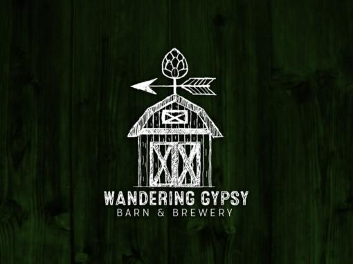 Wandering Gypsy Barn & Brewery, Logo Design